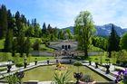Venustempel und Gartenparterre Schloss Linderhof
