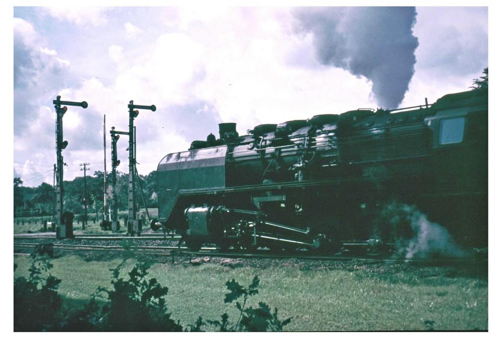 Ver der Ausfahrt 1954