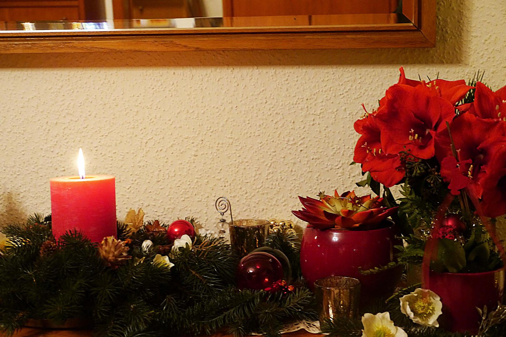 Verändertes Weihnachtsdeko von 2012