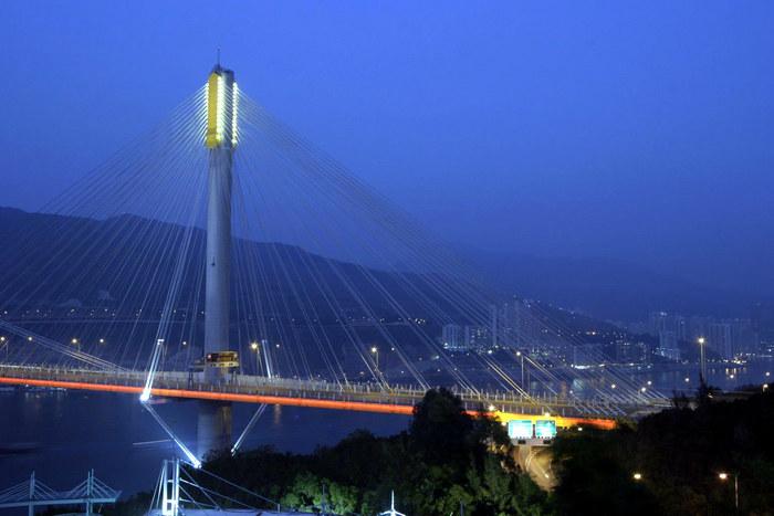 Verbindung zu den New Territories in Hong Kong