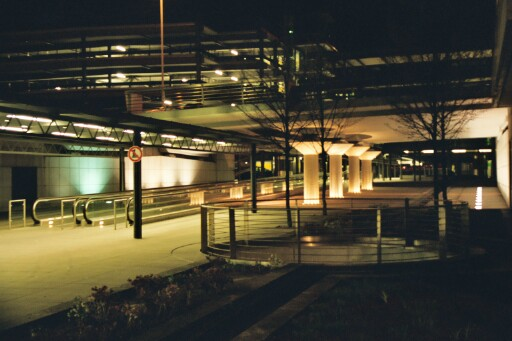 Verbindungswege am Stuttgarter Flughafen