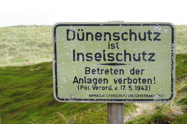Verbot aus der NS-Zeit!