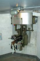 Verbunkerte Machinengewehrstand