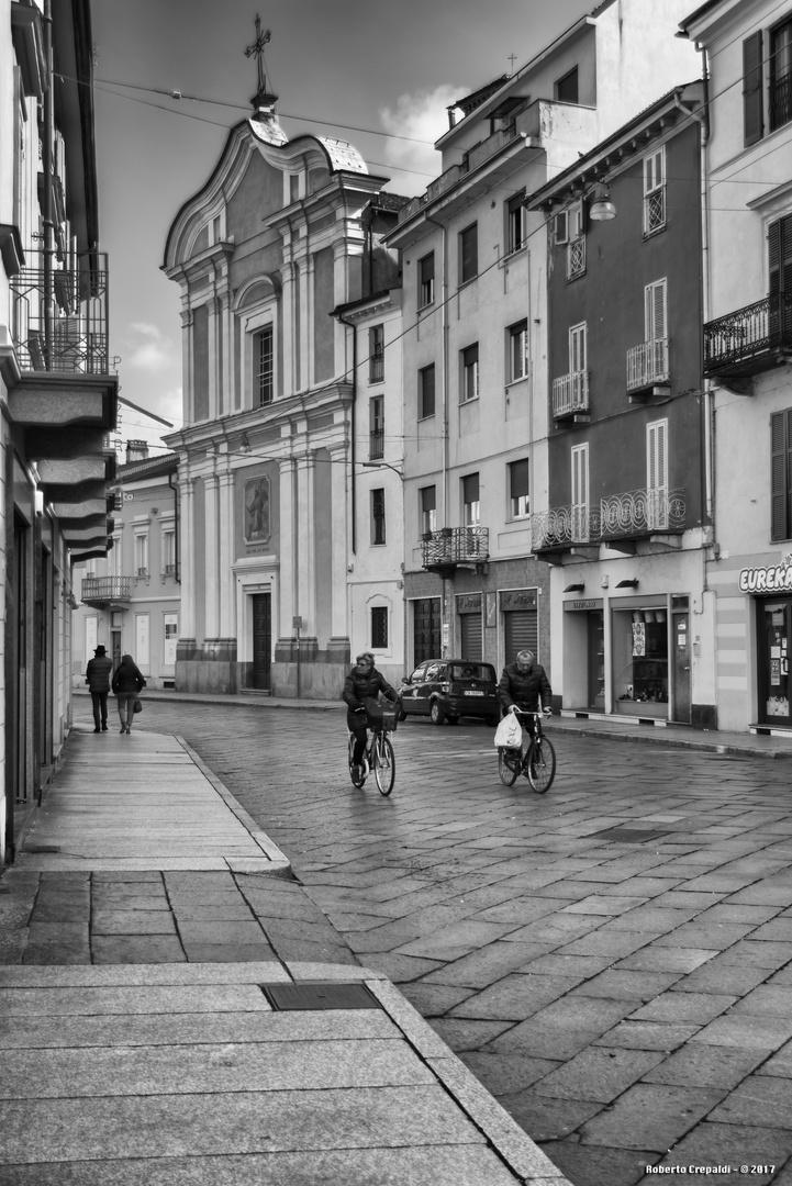 Vercelli, zona pedonale