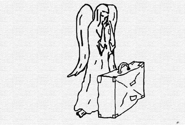 verdächtiger Koffer