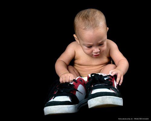 Verdammt, jetzt sind die Schuhe schon wieder zu klein