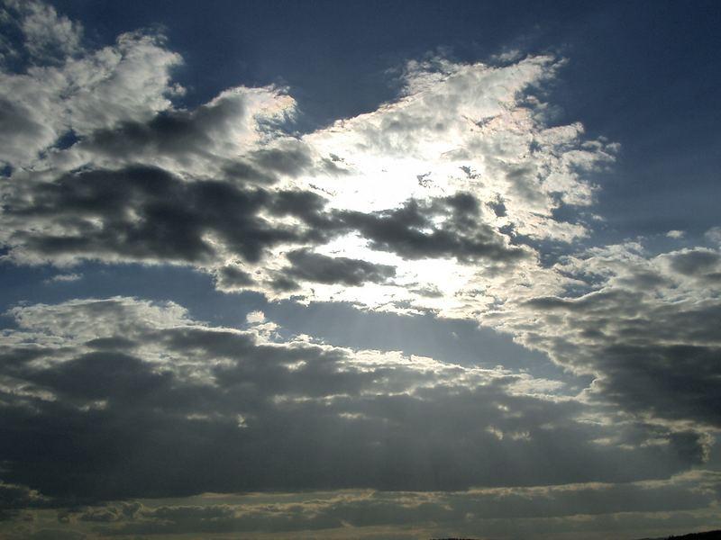 Verdeckte Sonne