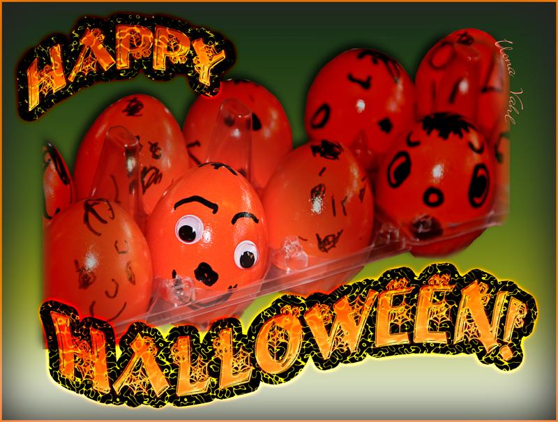 Vereiertes Halloween