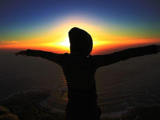 Vereint mit dem Horizont