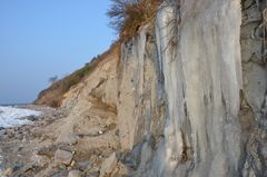 Vereiste Steilküste