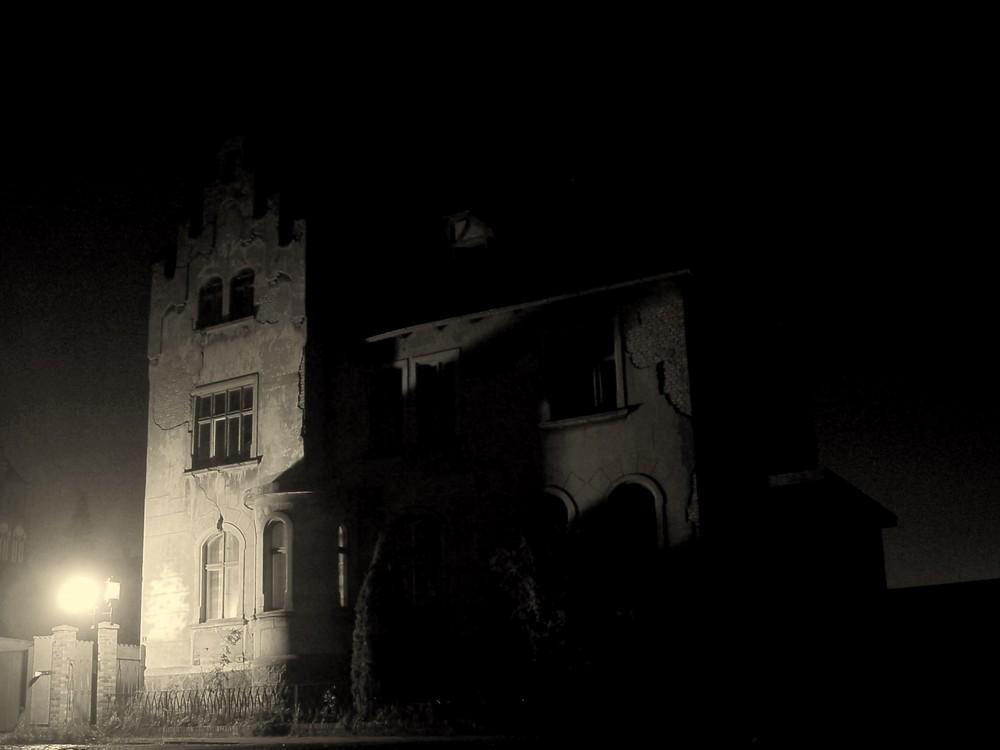 verfallende Villa