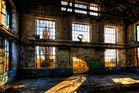 Verfallene Halle