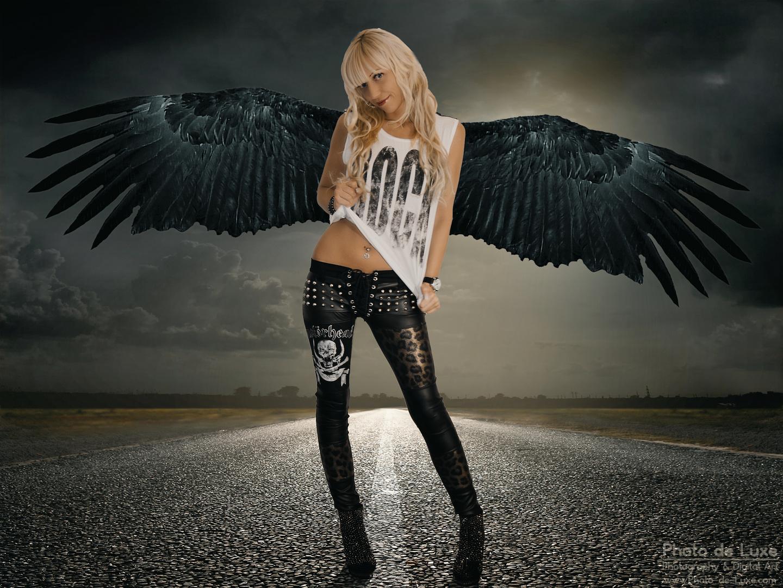 verführerischer Rache-Engel