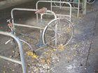 Vergammeltes Fahrrad