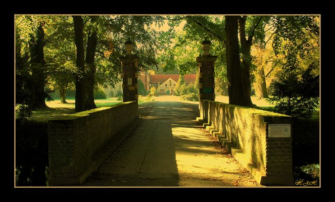 Vergessen und verlassen.Schloss Senden