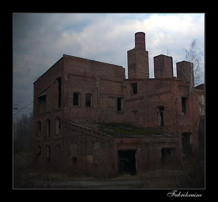 vergessene Fabrik