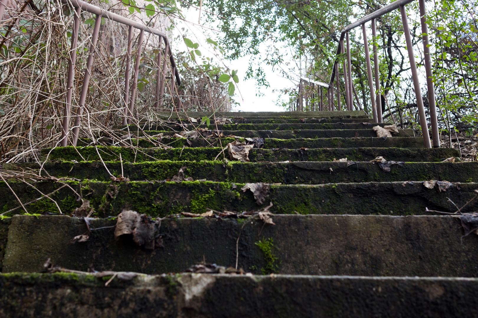Vergessene Treppe