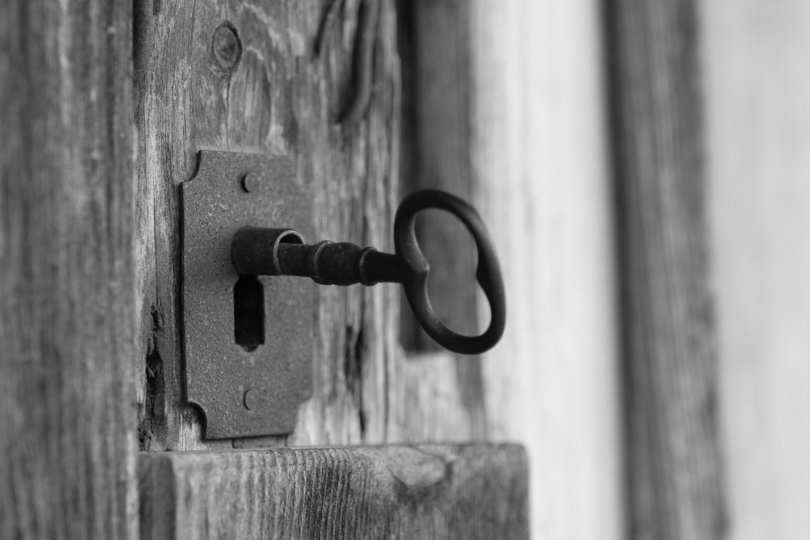 Vergessener Schlüssel