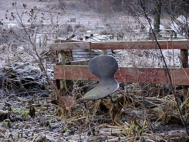 vergessener Stuhl