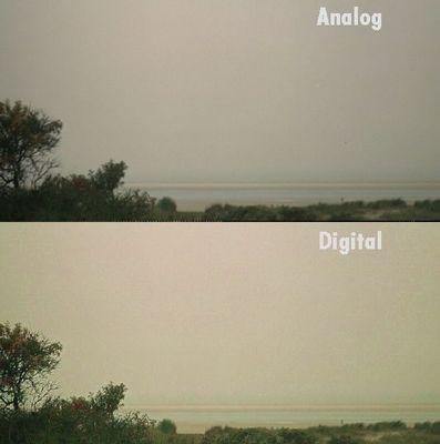 Vergleich Analog - Digital