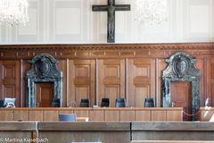 Verhandlungssaal Nürnberger Prozesse