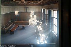 Verhandlungssaal Nürnberger Prozesse 3