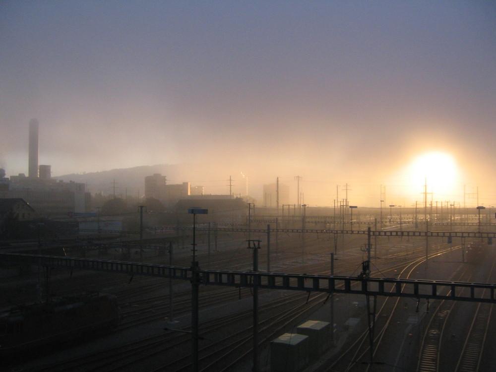 Verhüllter Hauptbahnhof