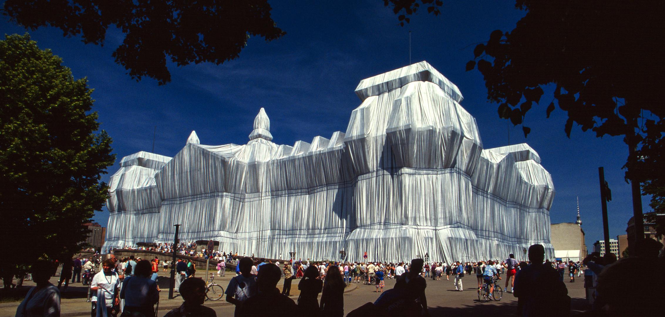 Verhüllter Reichstag