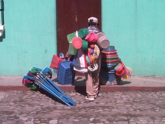 Verkäufer in Antigua