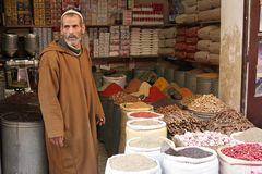 Verkäufer in Marrakech