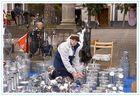 Verkäufer von Metallwaren in Teror am Kirchenplatz