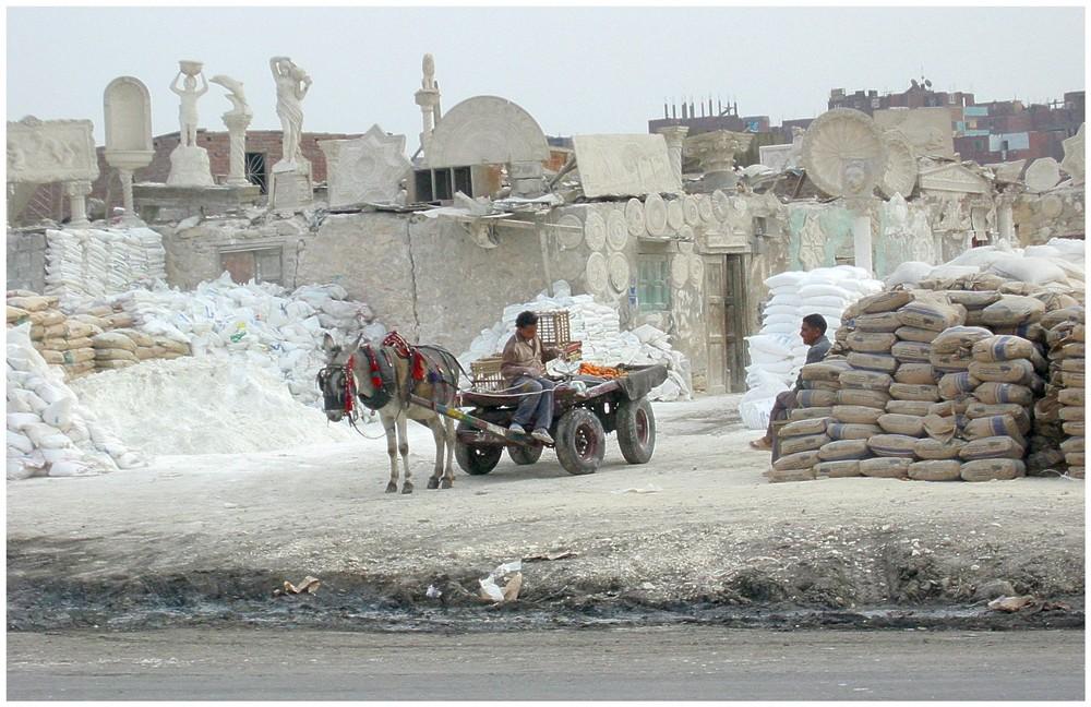 Verkalkt in Kairo