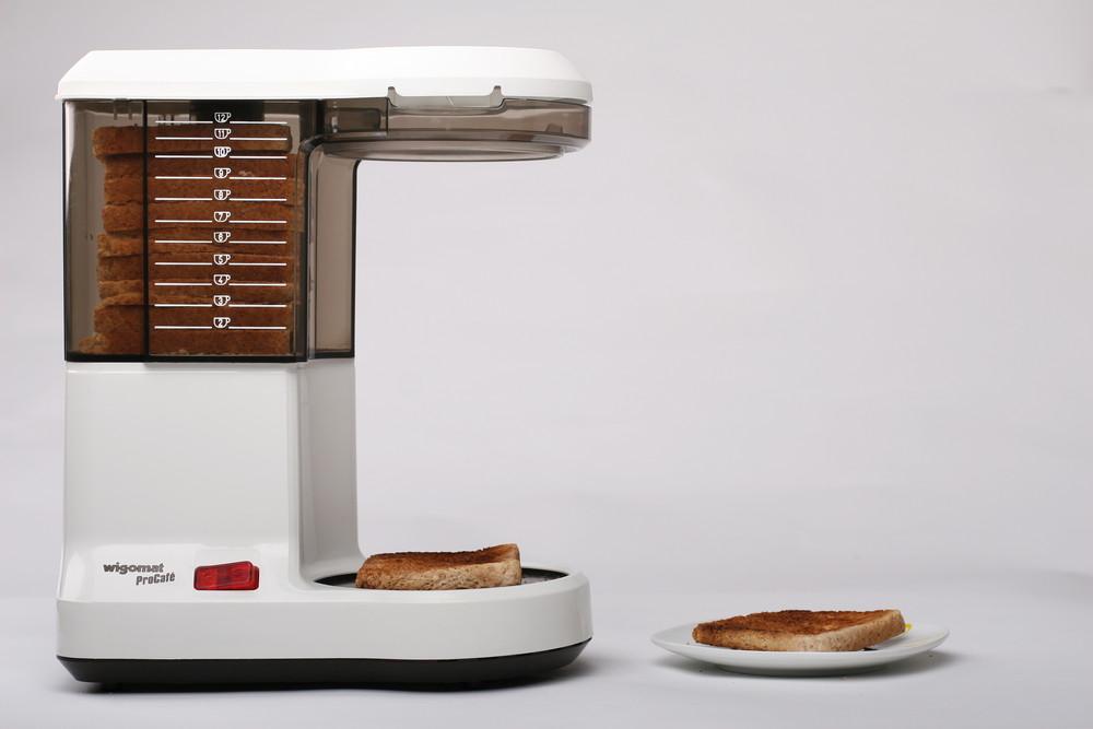 Verkaufe mir eine Kaffeemaschine für einen Toaster