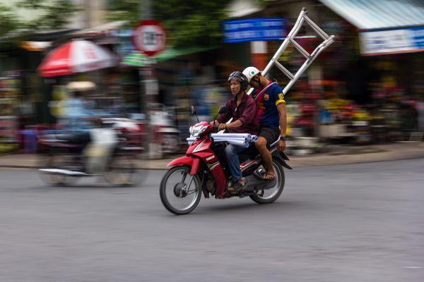 Verkehr nach Vietnam-Style