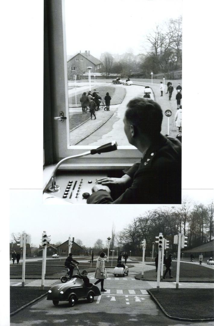 VERKEHRSERZIEHUNG - Verkehrsschule in den 1950er Jahren BRD