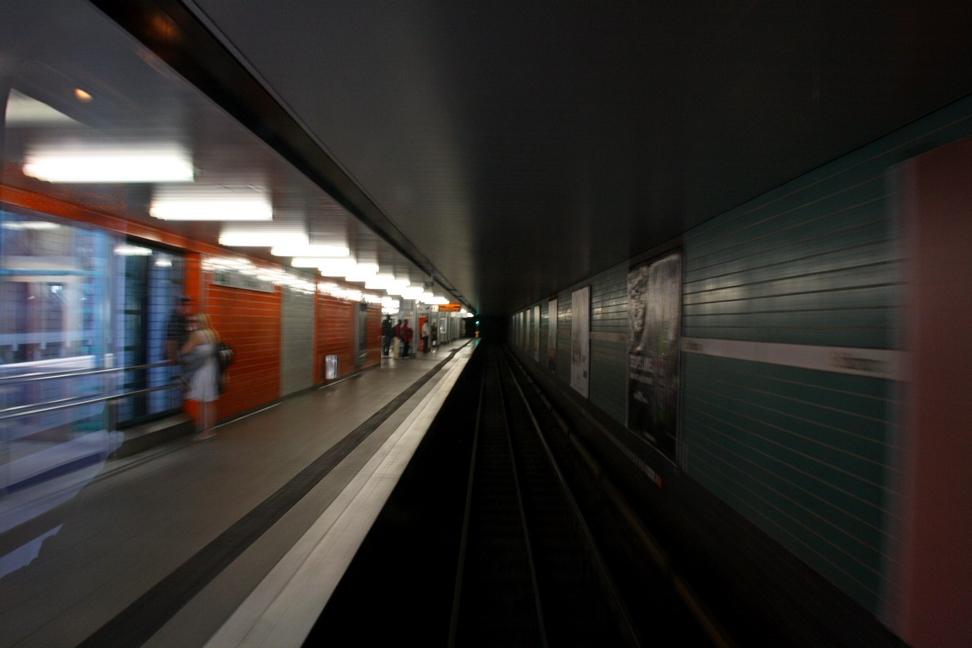 Verkehrshistorischer Tag 2011 - Einfahrt in die Station I
