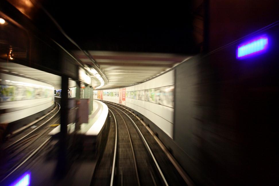 Verkehrshistorischer Tag 2011 - Einfahrt in die Station II