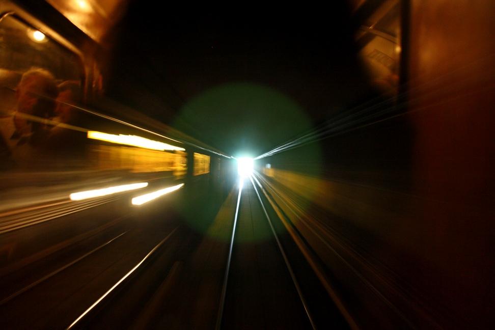 Verkehrshistorischer Tag 2011 - Tunnelfahrt