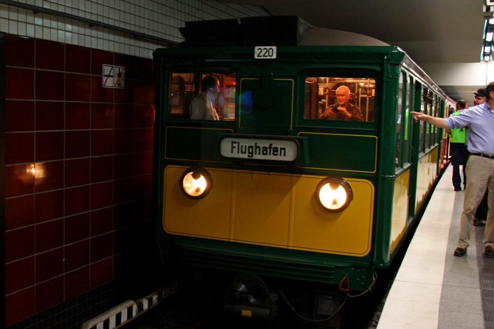 Verkehrshistorischer Tag 2011 - U-Bahn