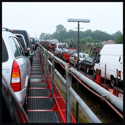 Verkehrsreiche Schienen