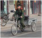 Verkehrsteilnehmer / Peking