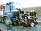 Verkehrsunfall auf die BAB-4