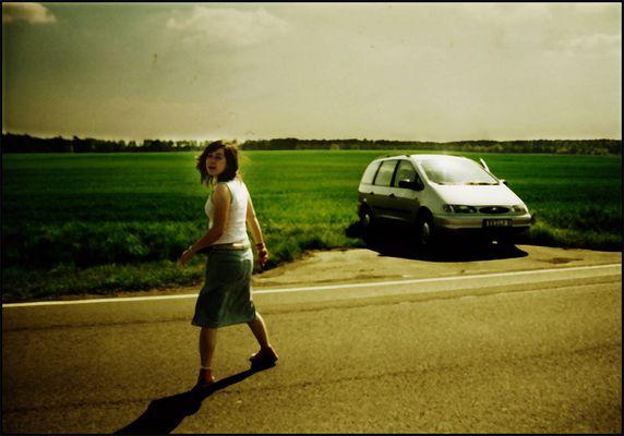 verkehrte gegend, verkehrtes auto ...