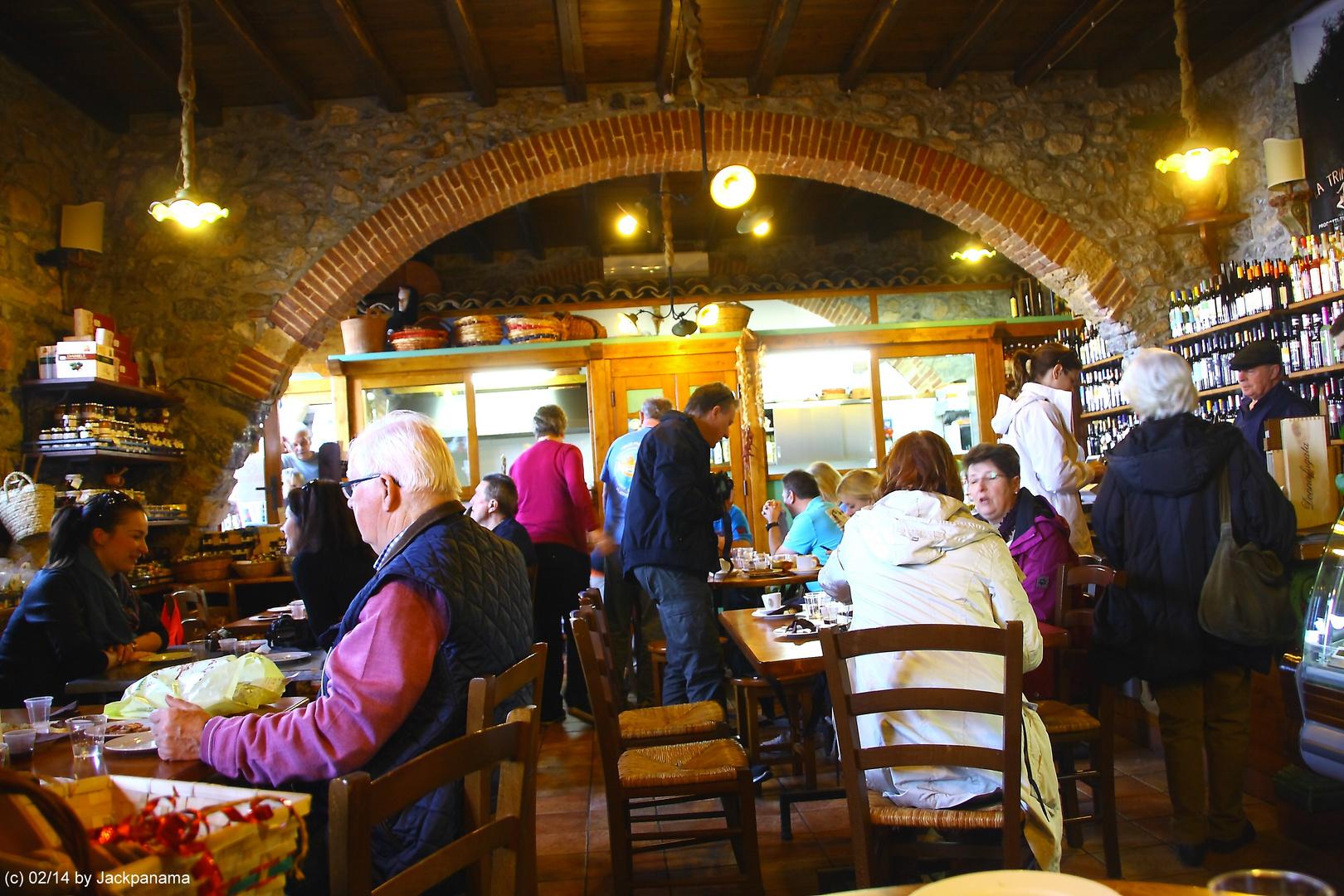 Verkostung typischer italienischer Späzialitäten von Palermo