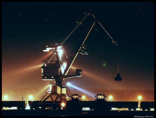 Verladekran Dillinger Hafen