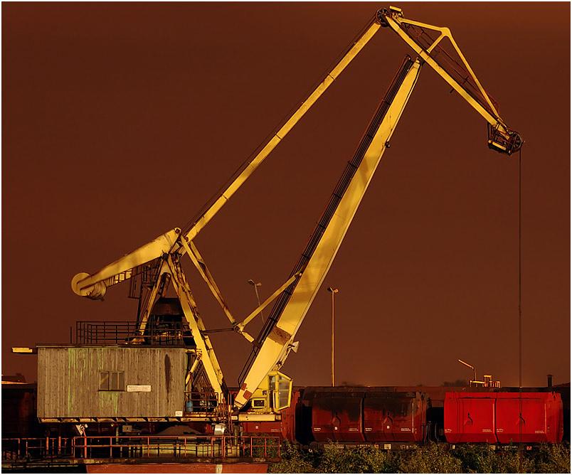 Verladekran - DK - Duisburg Hafen