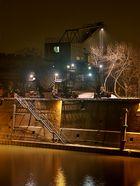 Verladekran im HKM-Werk Duisburg