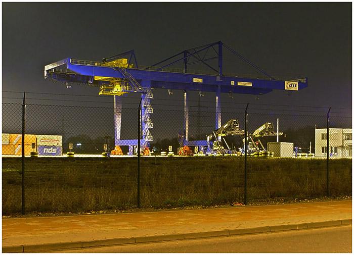 Verladekran - Logport Duisburg