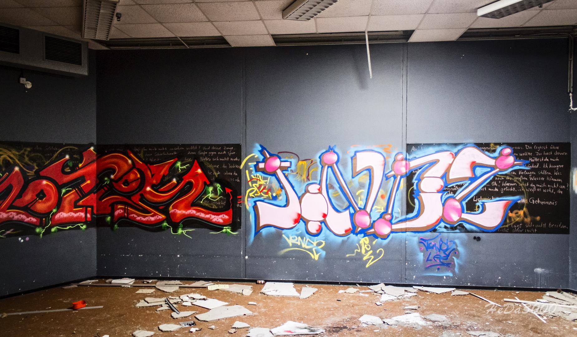 Verlassen 015, Kunst am Bau