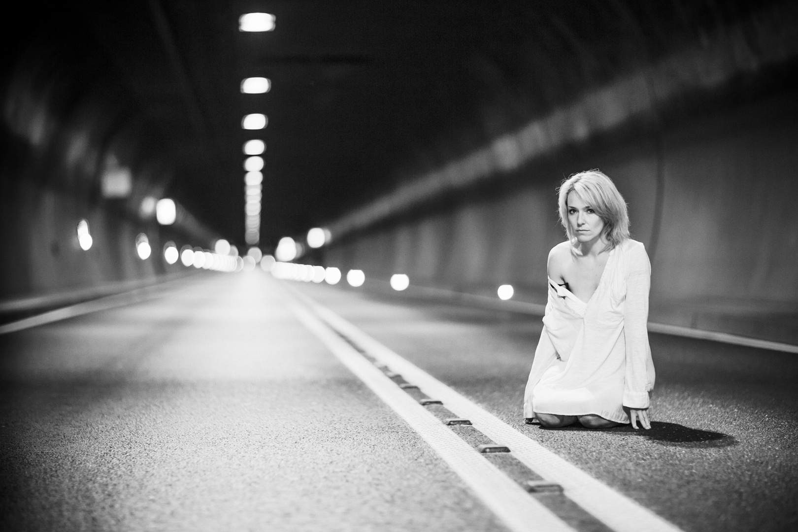 Verlassen im Tunnel der Hoffnung